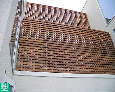 ウッドデッキ用新素材「マクセラムデッキ」フェンス 1